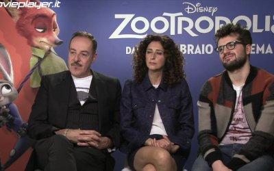 Zootropolis - Intervista a Massimo Lopez, Teresa Mannino e Frank Matano