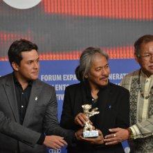 Berlino 2016: Lav Diaz alla conferenza dei premiati