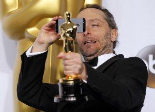 Emmanuel Lubezki con l'Oscar