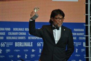 Berlino 2016: Mark Lee Ping-Bing durante la conferenza dei premiati