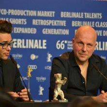Berlino 2016: Tomasz Wasilewski  durante la conferenza dei premiati