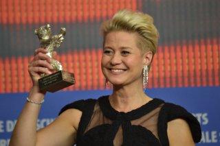 Berlino 2016: Trine Dyrholm alla conferenza dei premiati