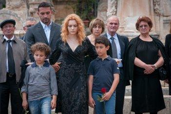 Il commissario Montalbano: l'attrice Miriam Dalmazio in una foto dell'episodio Una faccenda delicata