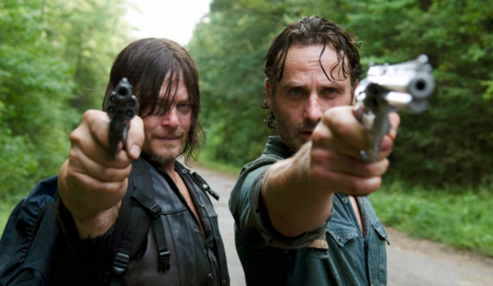 The Walking Dead: Rick e Daryl nell'episodio 6x10