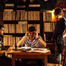 Tiramisù: Fabio De Luigi, Alberto Farina e Angelo Duro in una scena del film