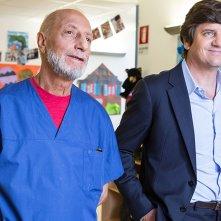 Tiramisù: Fabio De Luigi e Pippo Franco in una scena del film