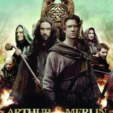 Locandina di Arthur & Merlin