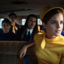Colonia: Emma Watson in macchina in una scena del film