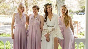 Girls: le protagoniste femminili della serie nella puntata Wedding Day