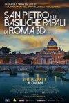 Locandina di San Pietro e le Basiliche Papali di Roma 3D