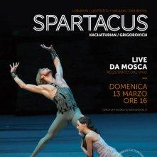 Locandina di Il balletto del Bolshoi: Spartacus