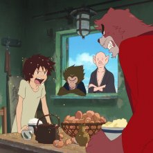 The Boy and the Beast: un'immagine del film animato