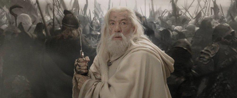 Ian McKellen ne Il signore degli anelli - Il ritorno del re