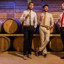 Bianco di Babbudoiu: Stefano Manca, Roberto Fara e Michele Manca in un'immagine promozionale del film