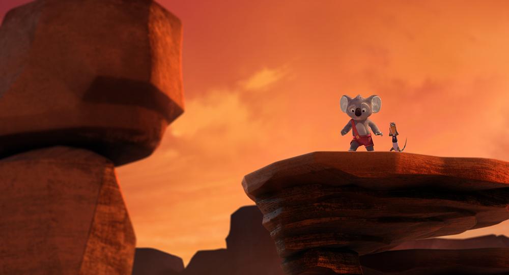 Billy il Koala - Le avventure di Blinky Bill: una scena del film animato