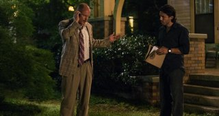 Codice 999: Woody Harrelson e Casey Affleck in una scena del film