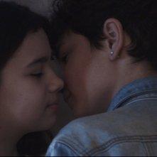 Grotto: Gabriele Fiore e Iris Caporuscio in una scena del film