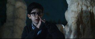 Grotto: Samuele Biscossi in una scena del film