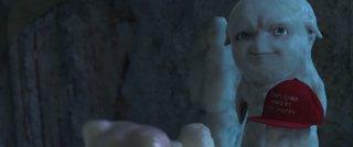 Grotto: la simpatica creatura Grotto in una scena del film