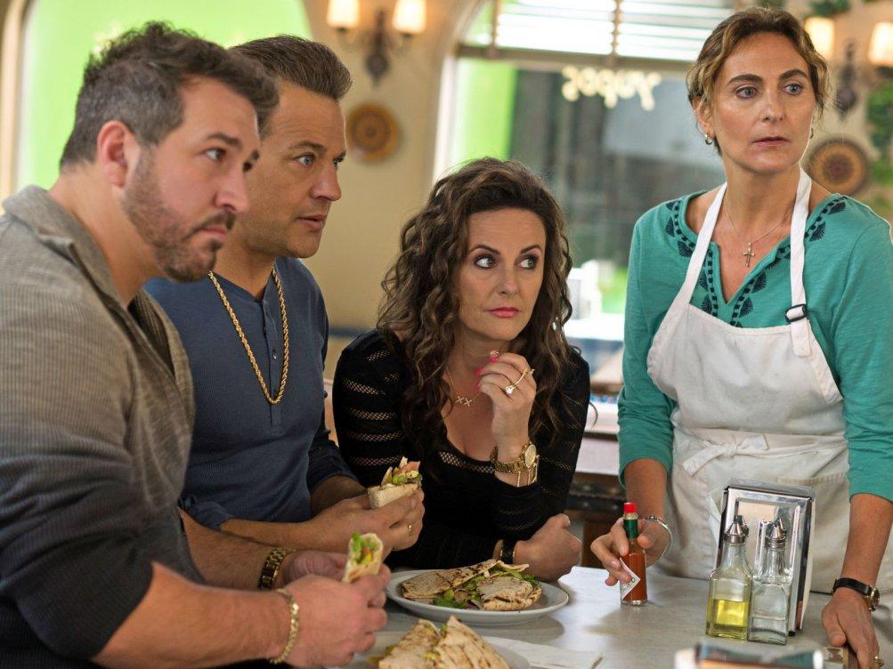 Il mio grosso grasso matrimonio greco 2: una scena del film