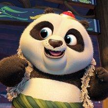 Kung Fu Panda 3: un momento del film d'animazione