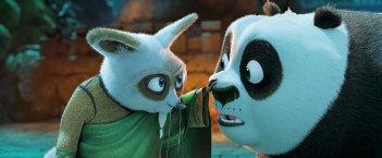 Kung Fu Panda 3: una scena del film d'animazione