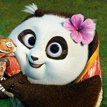 Kung Fu Panda 3: un' immagine del film d'animazione