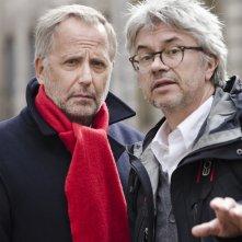 La corte: Fabrice Luchini e Christian Vincent sul set del film