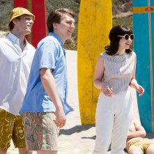 Love and Mercy: Paul Dano, Brett Davern e Jake Abel in una scena del film