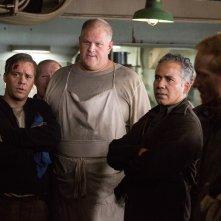 L'ultima tempesta: Michael Raymond-James, Abraham Benrubi e John Ortiz in una scena del film