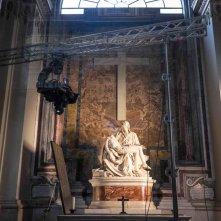 San Pietro e le Basiliche Papali di Roma 3D: un'immagine dal set