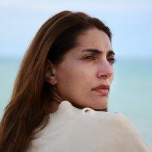 Ustica: un primo piano di Caterina Murino