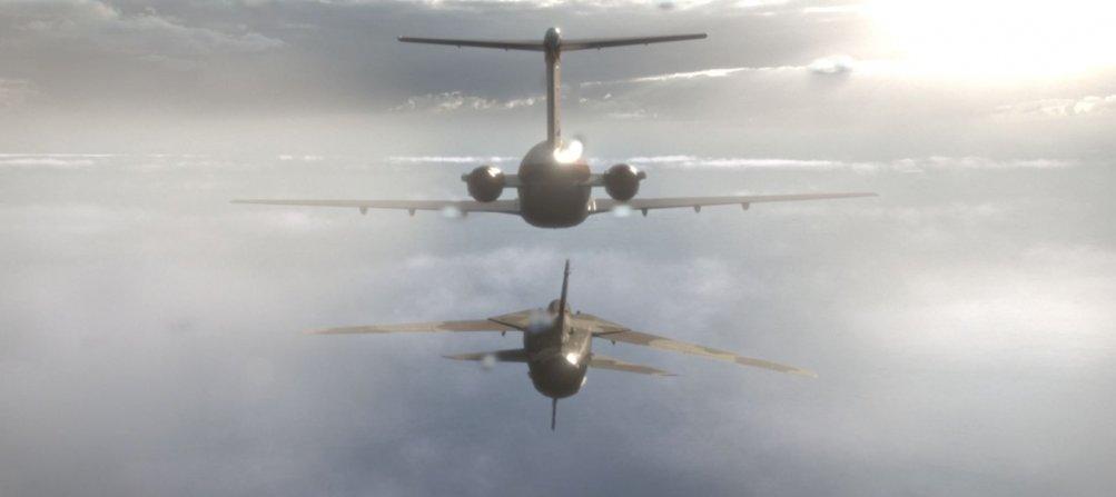 Ustica: una scena aerea del film