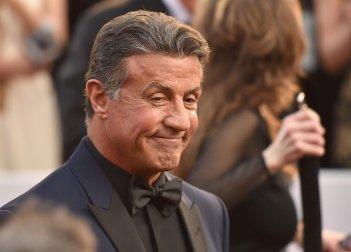 Sylvester Stallone sul red carpet degli Oscar 2016