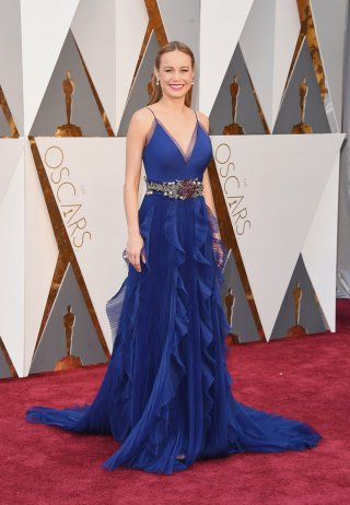 Oscar 2016: Brie Larson sul red carpet