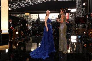 Brie Larson sul red carpet degli Oscar 2016