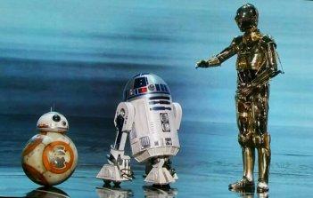 Oscar 2016: C-3PO, R2-D2 e BB-8 sul palco
