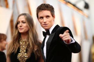 Hanna e Eddie Redmayne agli Oscar 2016