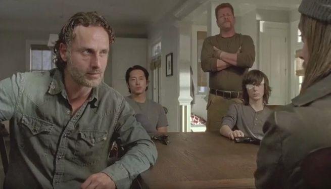 The Walking Dead: Rick, Glenn, Abraham e Carl affrontano Jesus in I nodi si sciolgono