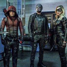 Arrow: Colton Haynes, David Ramsey e Katie Cassidy