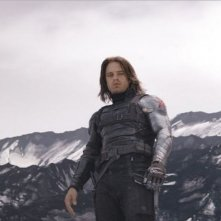 Captain America: Civil War - Sebastian Stan in una foto pubblicata da Empire