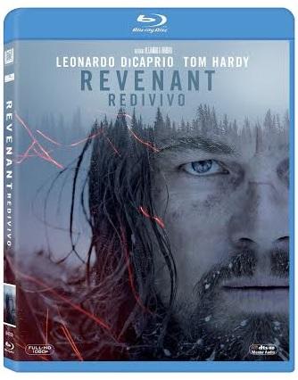 La cover del blu-ray di Revenant - Redivivo