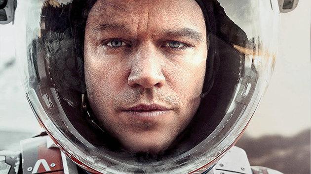 The Martian: una foto di Matt Damon