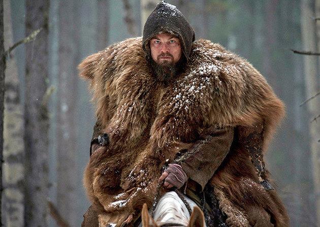 Revenant: una foto di Leonardo DiCaprio