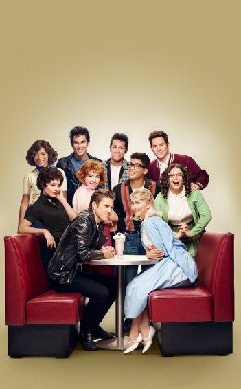 Grease Live!: un'immagine promozionale del cast