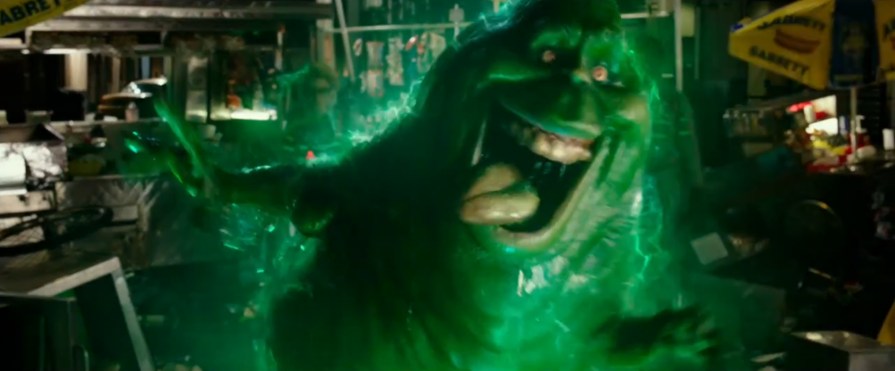 Ghostbusters: slimer appare nel primo trailer del reboot