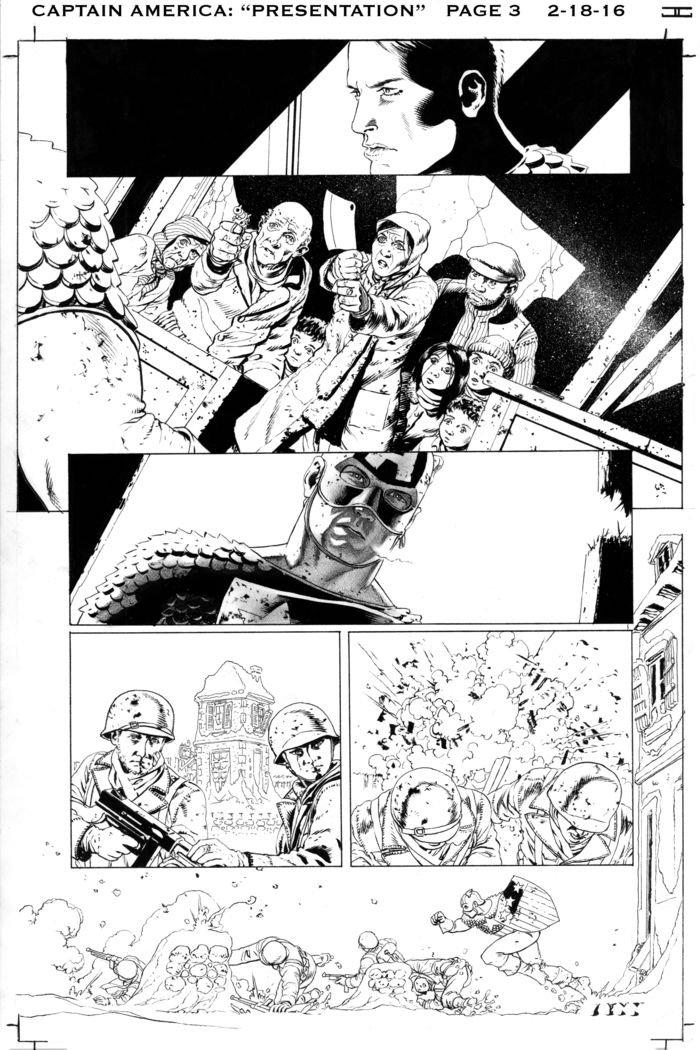 Captain America: una foto del fumetto realizzato con la collaborazione di Joss Whedon