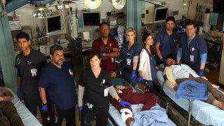 Code Black: una foto promozionale del cast del medical drama