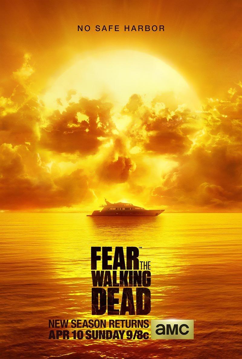 Fear the Walking Dead: il poster della seconda stagione
