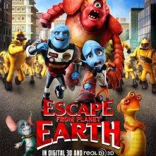 Locandina di Escape from Planet Earth